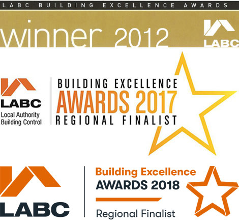 Hutchinson Construction LABC Buildiing Excellence Award Winner